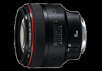 CANON 85mm f/1.2L II USM